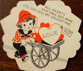 Valentine Cart Card